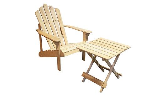 Adirondack Chair & Table