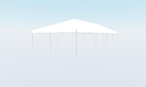 20' x 50' White Top