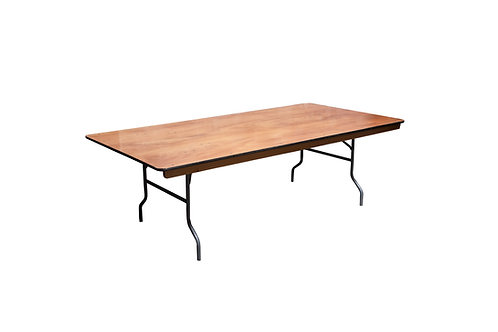 "8' x 48"" King Table"