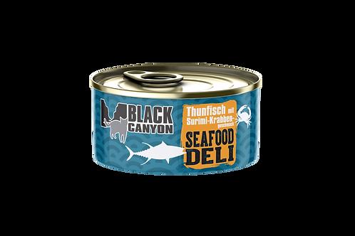 Black Canyon Seafood Deli Thunfisch Surimi Krabbengeschmack 24x85g