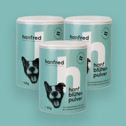 Hanfred Hanfblütenpulver Hunde 65g
