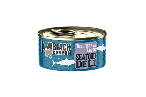Black Canyon Seafood Deli Thunfisch & Lachs 24x85g