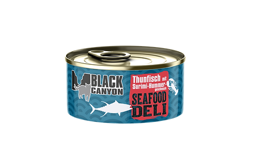 Black Canyon Seafood Deli Thunfisch Surimi Hummergeschmack 24x85g