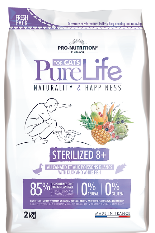 Pure Life for Cats - Sterilized 8+