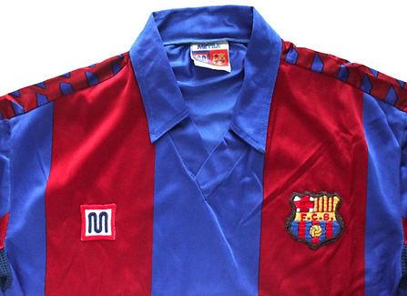 Barcelona, 11 classic football shirts 1980s