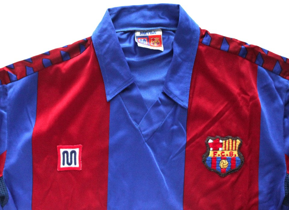 Barcelona, 11 classic football shirts 1980s