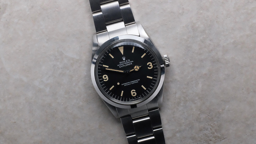 1976 Rolex Explorer Ref. 1016 'unpolished'