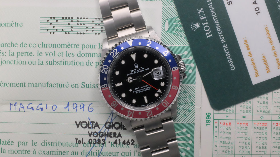 1994 Rolex GMT-Master Ref. 16700 Full Set