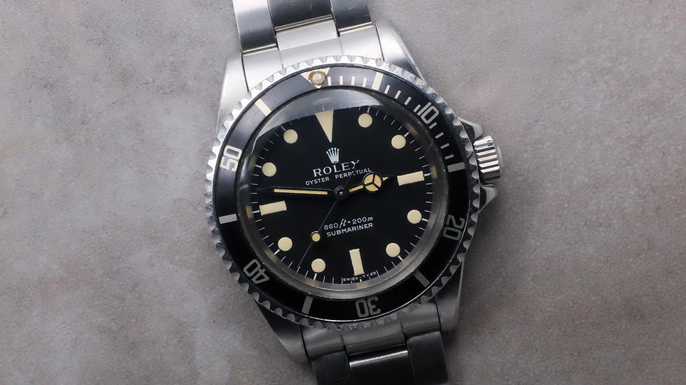 1971 Rolex Submariner Ref. 5513 'Serif dial'