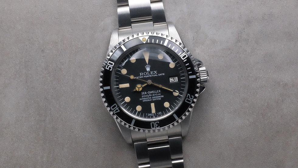 1978 Rolex Sea-Dweller Ref. 1665 MK 2 'Rail dial'