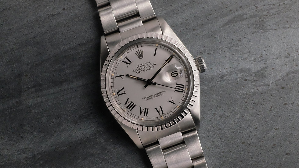 1979 Rolex Datejust Ref. 16030 Gray 'Buckley Dial'