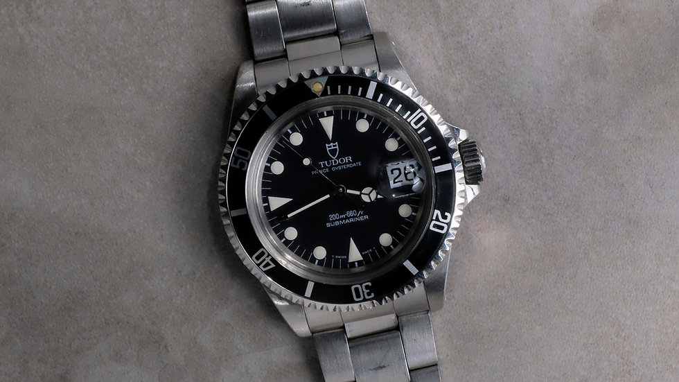 1992 Tudor Submariner Ref. 79090 'Unpolished'