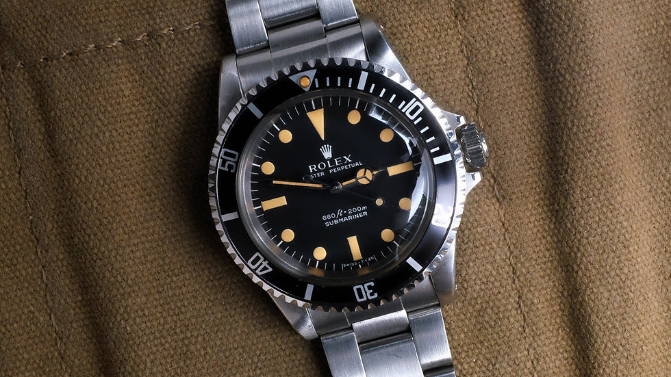 Like New 1978 Rolex Submariner Ref. 5513 'Serif Dial'