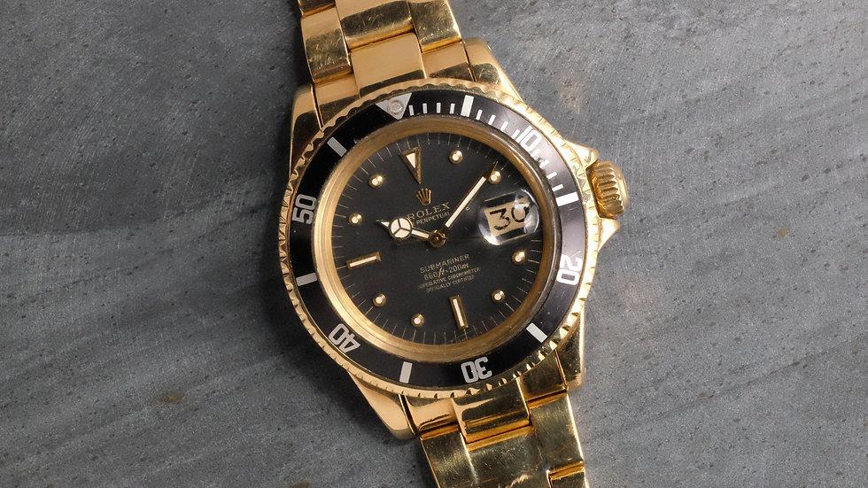 1973 Rolex Submariner Ref. 1680/8 '18K Gold'