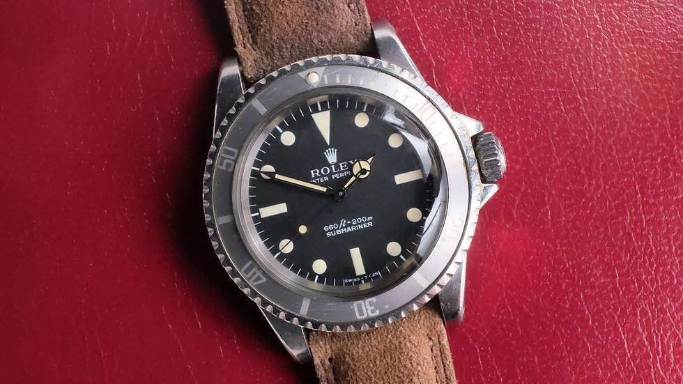 1973 Rolex Submariner Ref. 5513 'Feet First Non-Serif' Ghost bezel