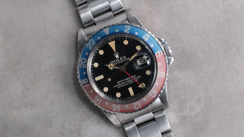 1978 Rolex GMT-Master Ref. 1675 Maxi MK 5 'faded insert'