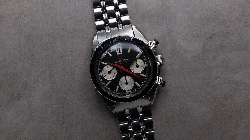 1967 Universal Geneve Space Compax Ref. 885104/01