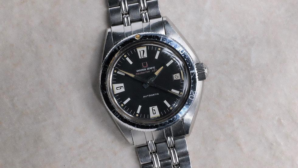 Unpolished 1968 Universal Geneve Polerouter Sub Ref. 869116/01
