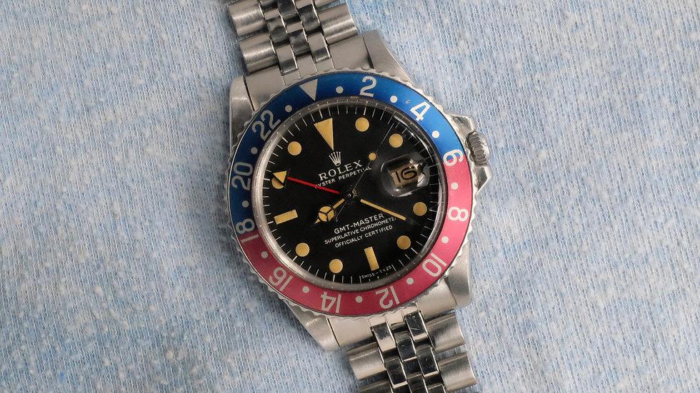 1971 Rolex GMT-Master Ref. 1675 MK I 'Long E' Pink insert