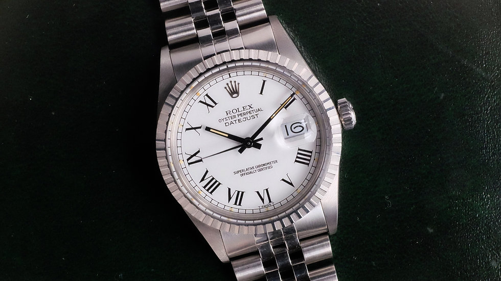 1987 NOS Rolex Datejust 16030 'Buckley Dial'