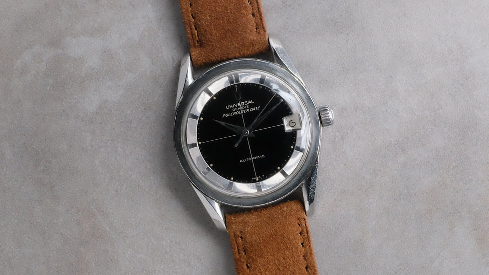 Universal Geneve Polerouter Date 'Glossy dial'