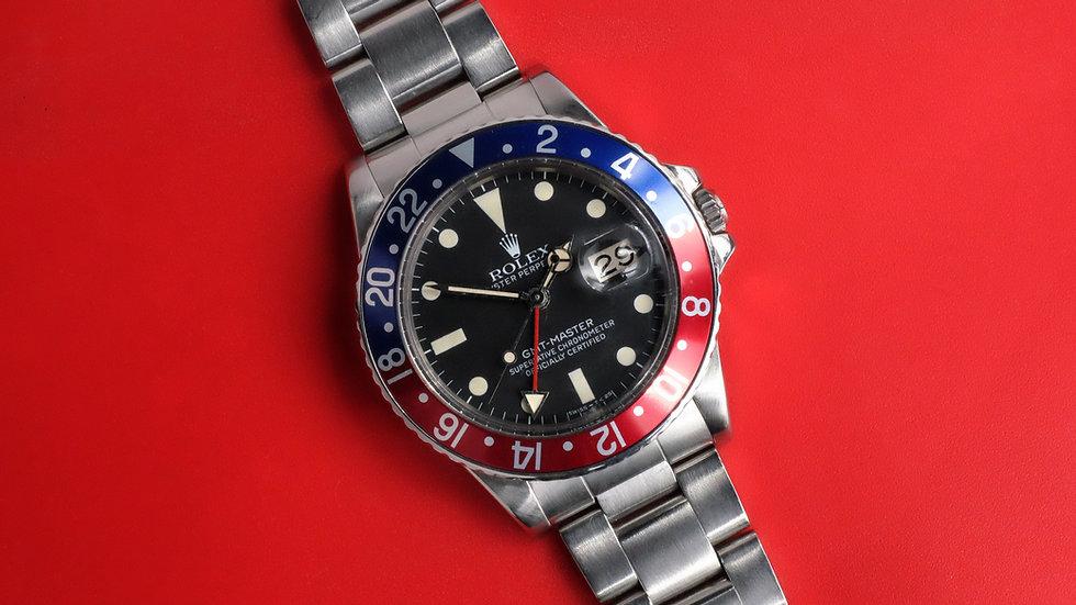 Rolex GMT-Master Ref. 16750 MK1 'Maxi Dial'