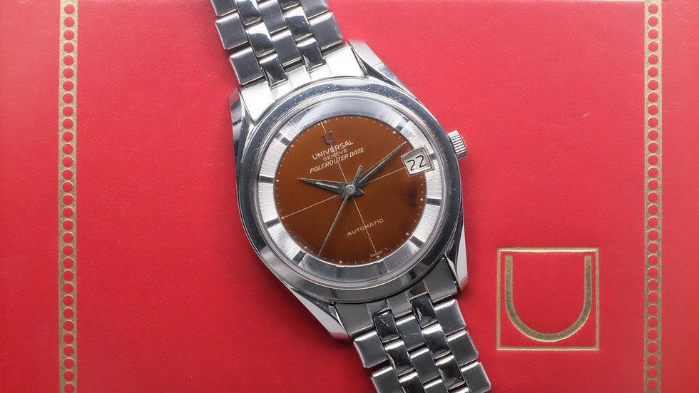 Universal Geneve Polerouter Date Ref. 869111/01 'Caramel dial'