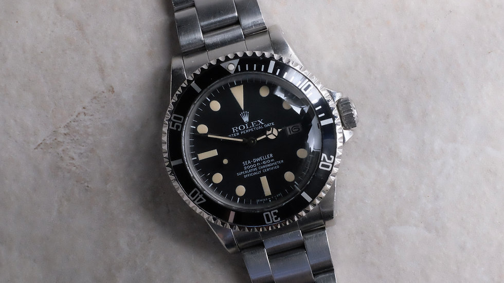 1979 Rolex Sea Dweller Ref. 1665 MK1 'Great White'