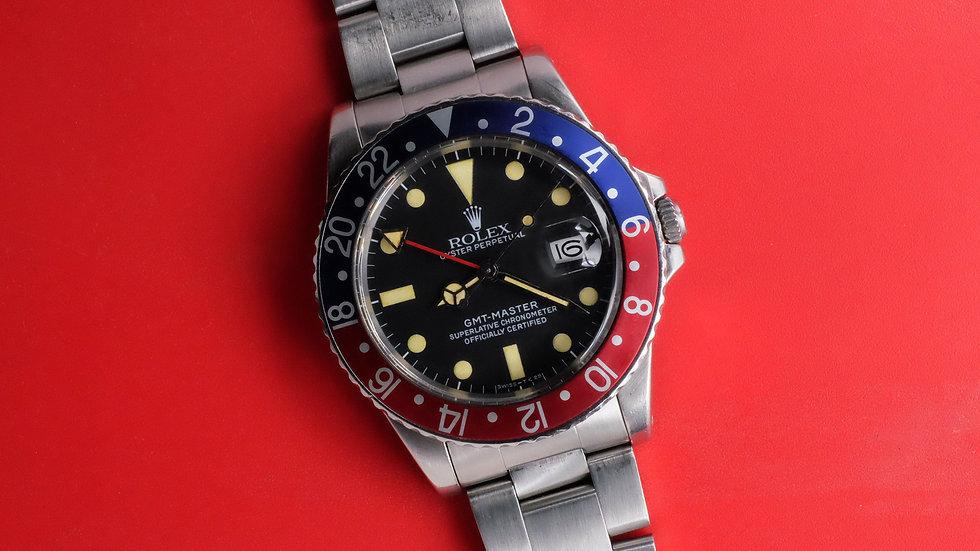 1984 Rolex GMT-Master Ref. 16750 'yellow patina'