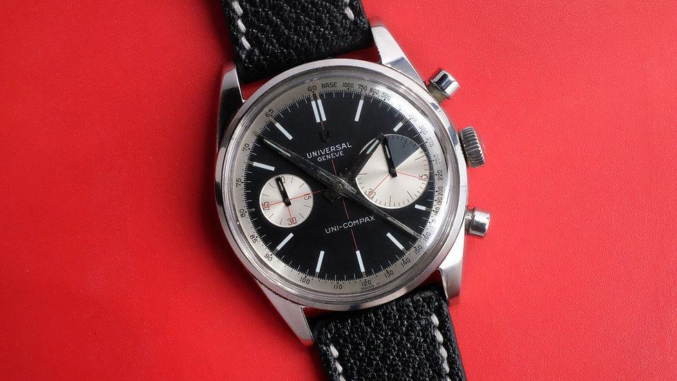 1964 Universal Geneve Uni-Compax 'Big Eye' chronograph  Ref. 884100/01