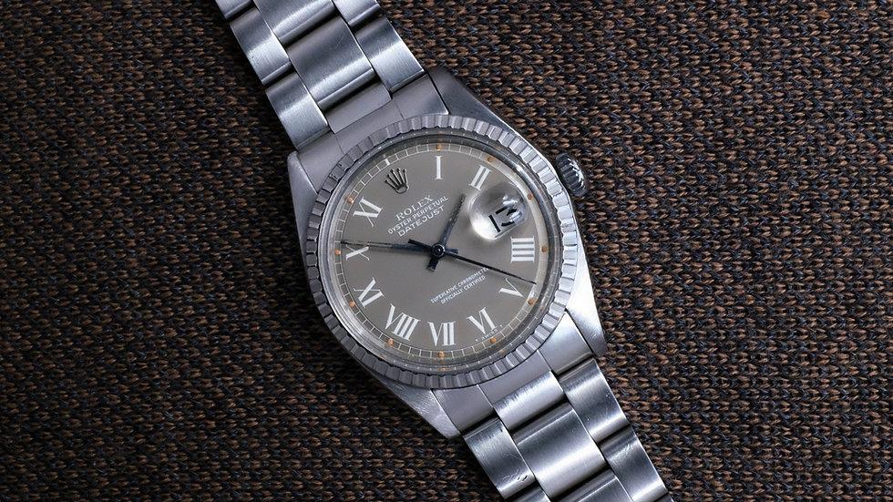 Rolex Datejust Ref. 1603 Gray 'Buckley Dial'