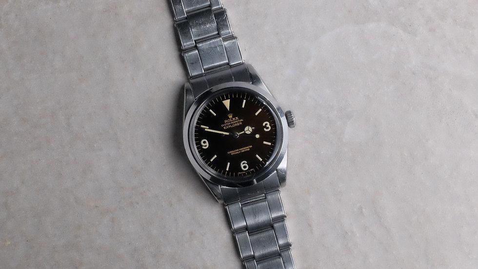 1966 Rolex Explorer Ref. 1016 'Tropical gilt dial'