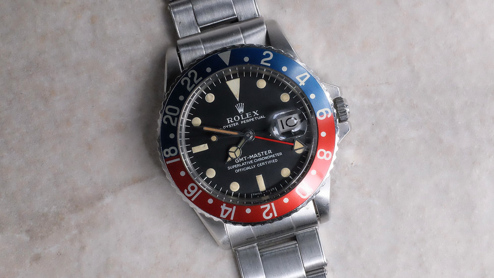 1968 Rolex GMT-Master Ref. 1675 early MK 1 'Long E'