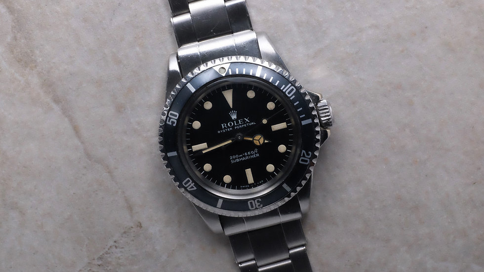 1968 Rolex Submariner Ref. 5513 'Meters First'