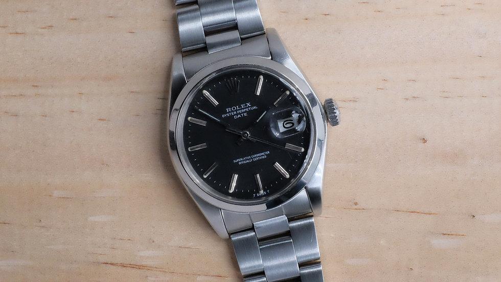 1976 Rolex Date Ref. 1500 'Dark gray matte dial'
