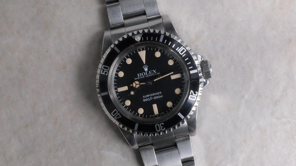 1981 Rolex Submariner Ref. 5513 'Maxi dial MK4' unpolished