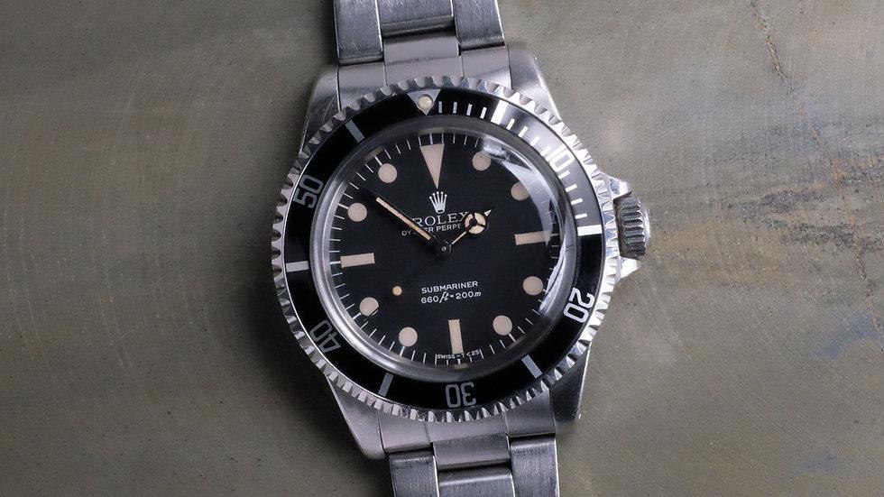 1980 Rolex Submariner Ref. 5513 'Maxi Dial' MK3 'Lollipop'