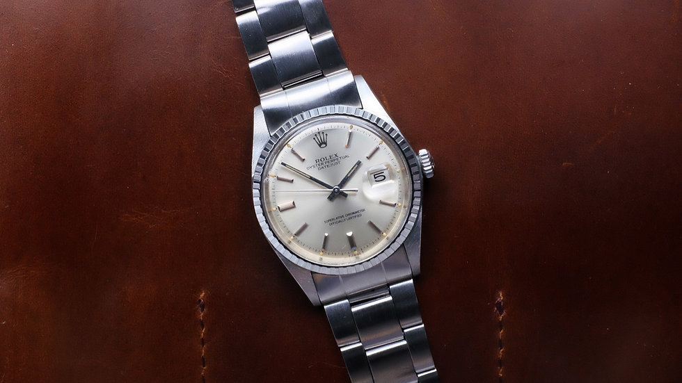 1973 Rolex Datejust Ref. 1603 'Pie-Pan dial'