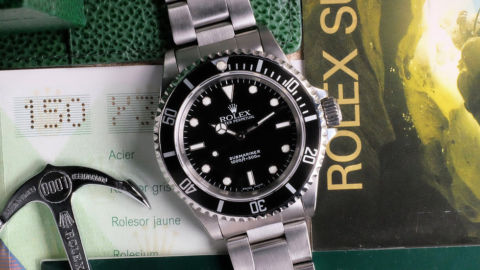 2002 Rolex Submariner No Date Ref. 14060M 2-Liner 'Full Set'