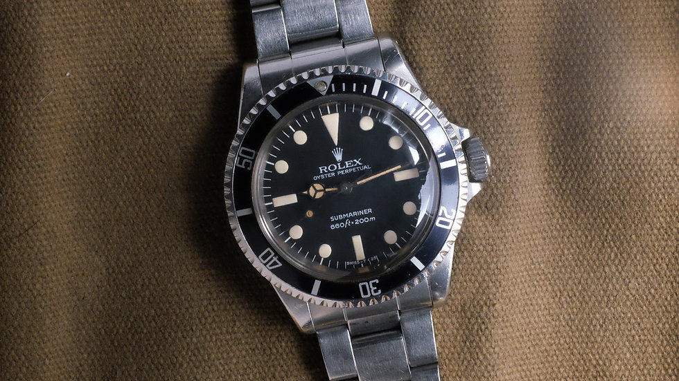 1979 unpolished Rolex Submariner Ref. 5513 'Maxi dial MK 2'