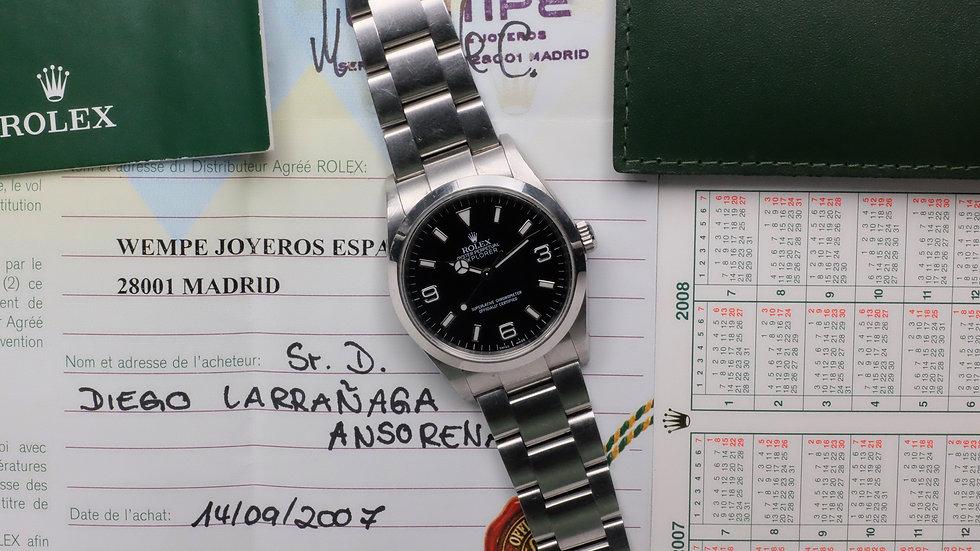 2005 Rolex Explorer Ref. 114270 'Full Set' Unpolished