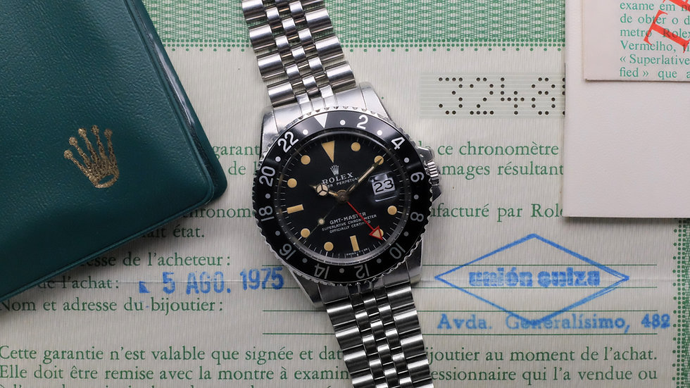 1973 Rolex GMT-Master Ref. 1675 MK 2 with 'all-red GMT hand'