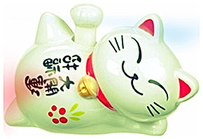 A Japanese Lucky Cat Gift for your guests | International