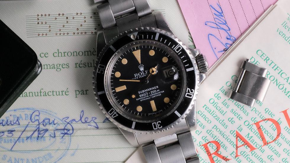 1978 Rolex Submariner Ref. 1680 White MK1 'Full Set'