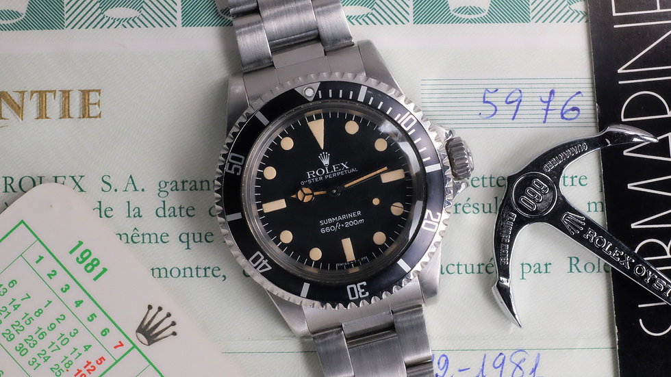 1979 Rolex Submariner Ref. 5513 'Maxi Dial' MK4 Full Set