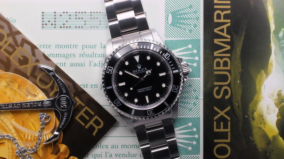 1995 Rolex Submariner Ref. 14060 'No Date' Full Set