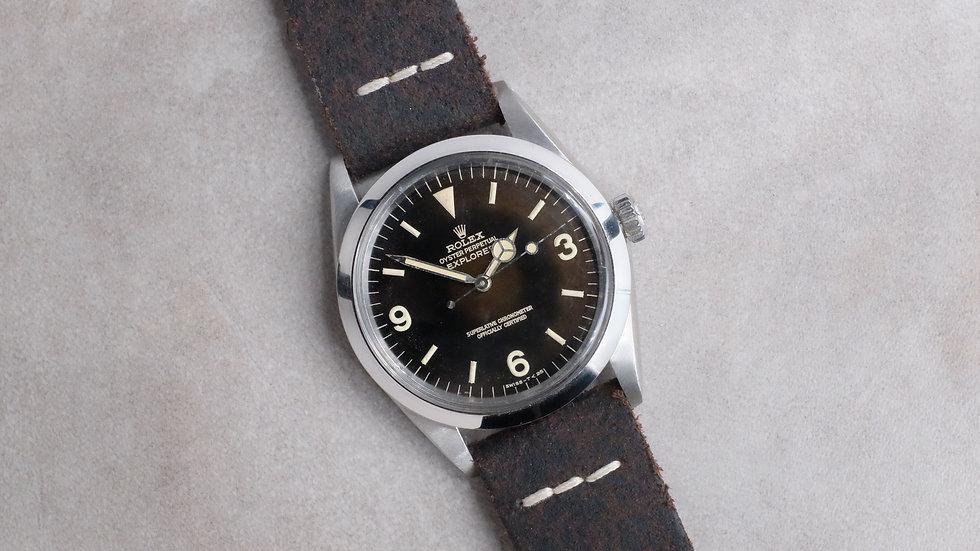 Rolex Explorer Ref. 1016 'Tropical Glossy Gilt Dial'