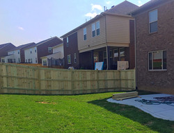 6ft Cap & Trim Fence