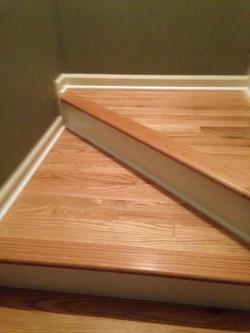 Hardwood Stairs