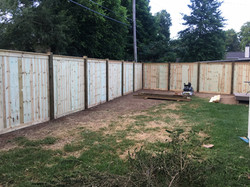 8ft Cap & Trim Fence